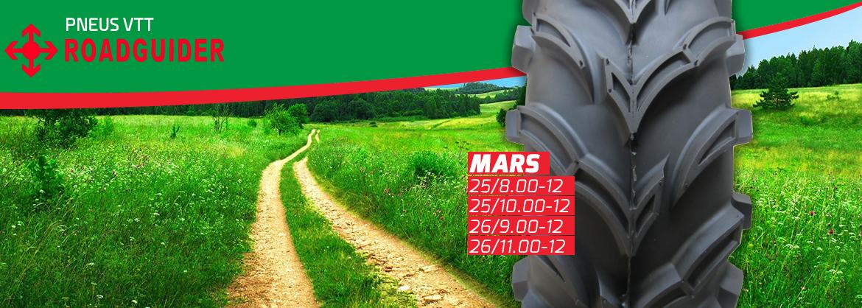Pneus de VTT Mars