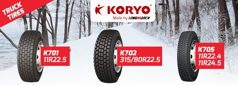 KORYO SNOW TRUCK TIRE
